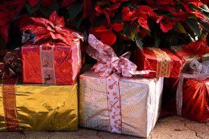 julegave til henne