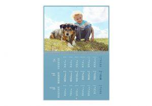 Kalender med personlig bilde Image