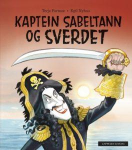 Barnebøker om kaptein Sabeltann Image