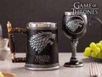 Game of Thrones seidel og vinglass - Winter is Coming Image