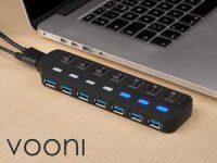 Vooni® USB-sentral med 7 porter Image
