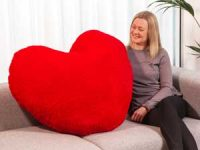 Cozy gigantisk hjerte Image