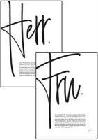 Poster - Herr & Fru Image