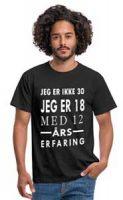 30 år, Morsom T-skjorte for menn Image