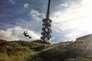 Zipline på Ulriken - Opplevelsesgave Image