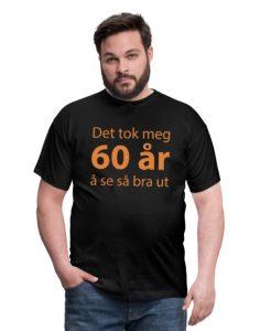 T-skjorte for 60-åring (menn) Image