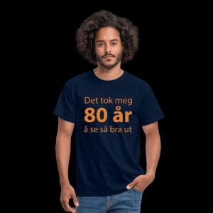 T-skjorte for 80-åring (menn) Image