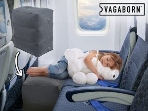 Vagaborn oppblåsbar flysetepute Image