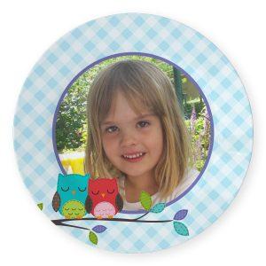 Barnetallerken med eget foto og/eller tekst Image