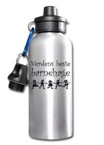 Drikkeflaske - Verdens beste barnehage Image