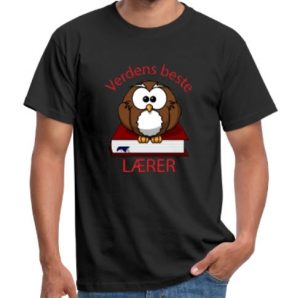 Verdens beste lærer t-skjorte Image