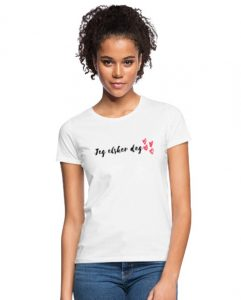 T-skjorte - Jeg elsker deg (Dame) Image