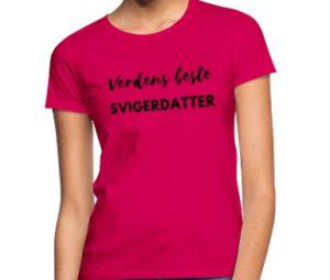 T-skjorte - Verdens beste svigerdatter Image