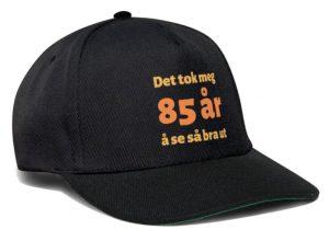 Caps til 85 åring Image