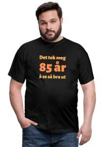 T-skjorte 85 åring - mann Image