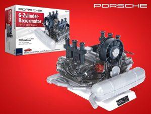 Porsche 6-sylindret boksermotor byggesett Image