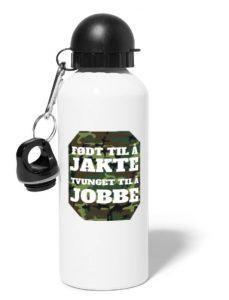 Drikkeflaske - Født til å jakte, tvunget til å jobbe Image