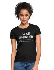 T-skjorte (Tekst: I