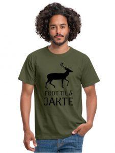 T-skjorte - Født til å jakte Image