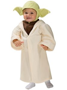 Yoda kostyme til baby Image