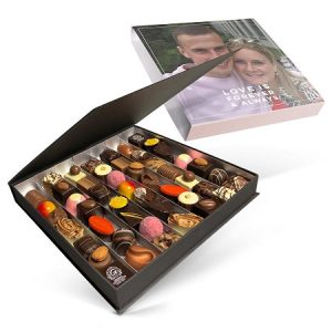 Luksus sjokoladeeske med eget bilde Image