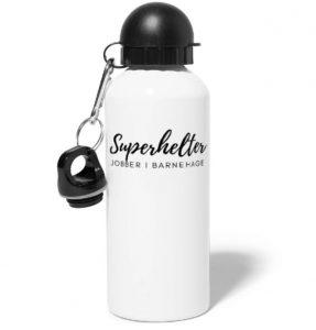 Drikkeflaske - Superhelter jobber i barnehage Image