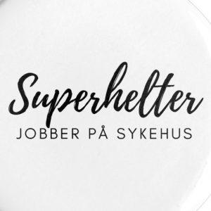 Pin til sykepleier - Superhelter jobber på sykehus Image