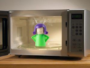 Angry Mama Rengjøringshjelp for Mikrobølgeovn Image