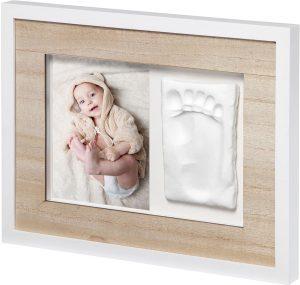 BabyArt Tiny Style Gipsavstøpning med Ramme Image