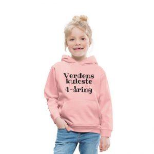 Hettegenser - Verdens kuleste 4-åring (finnes i flere farger) Image