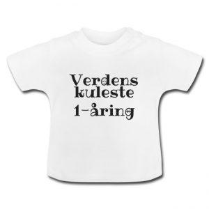 T-skjorte - Verdens kuleste 1-åring Image