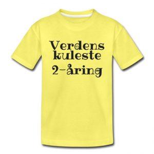 T-skjorte - Verdens kuleste 2-åring Image