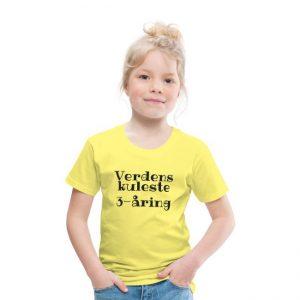 T-skjorte - Verdens kuleste 3-åring Image