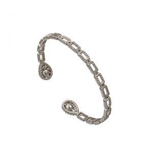Krystall armbånd fra Lily & Rose Image