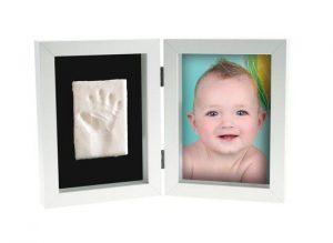 Ramme med avtrykk av hånd eller fot Image