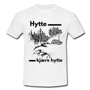 T-skjorte for menn - Hytte, kjære hytte Image