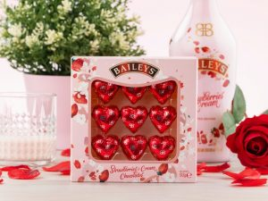 Baileys Strawberries & Cream sjokoladehjerter Image