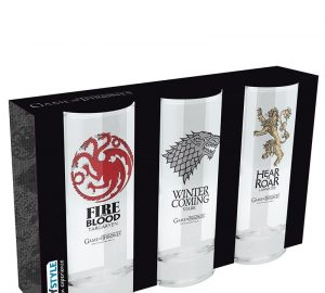 Game Of Thrones Glass 3-pack Image