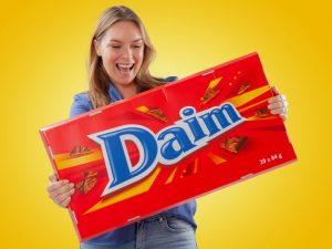 Gigantisk Sjokolade Daim Image