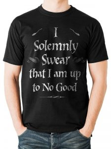 Harry Potter - Solemnly Swear T-Skjorte Image