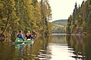 Kanotur i Østmarka med Oslo Outdoor - Opplevelsesgave Image