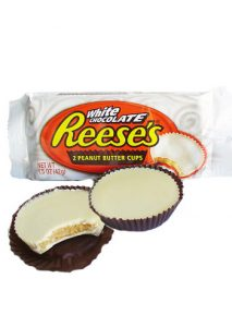 Reeses White Chocolate Peanut Butter Cups Image