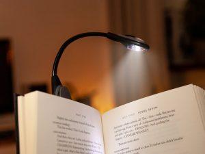 Spralla® LED-leselampe med klemme Image