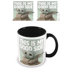 Star Wars Baby Yoda Kopp - This Is My Good Side Image
