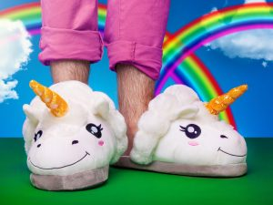 Unicorn Slippers Image