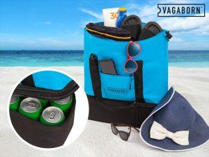 Vagaborn 2-i-1 strandveske med kjølelomme Image