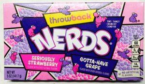Wonka Nerds Strawberry & Grape Box Image