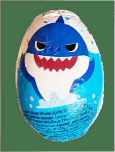 Baby Shark Sjokoladeegg Image
