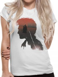 Harry Potter - Battle Silhouette T-Skjorte Image