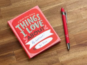 Things I Love About You fyll-ut-bok Image